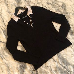 🎁3/$18🎁Set: collar sweater & matching necklace